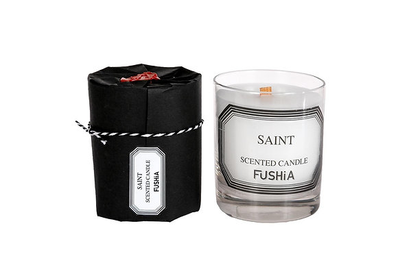 Saint Woodwick scented  candle