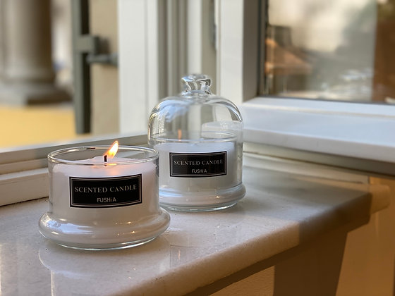 Bell Cover & Bergamot Story Scented Candle