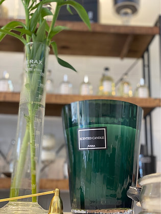Luxury Green Scented Candle, 40 cm tall