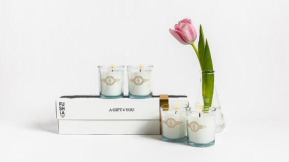 Elegant 4 candles gift