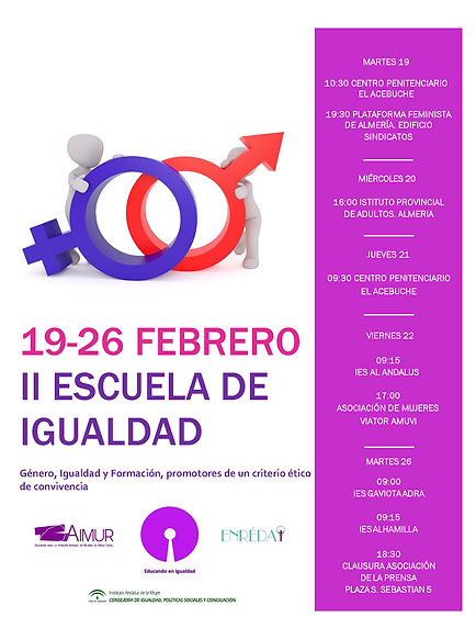 Cartel II Escuela de Igualdad Rif 21-02-