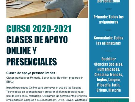 Cursos 2020 - 2021