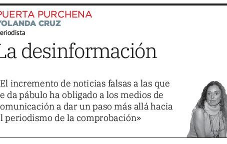 La desinformación