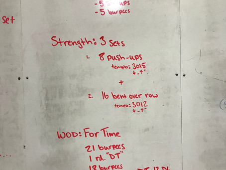 CFL Home WOD: day 45