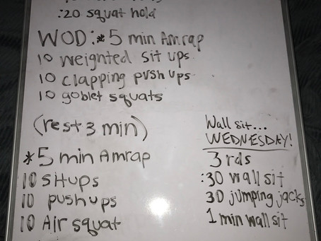 CFL HOME WOD DAY 31: 4:15