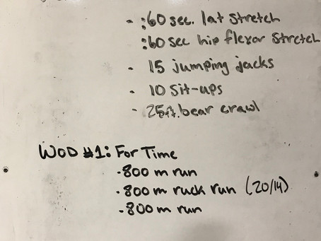CFL HOME WOD: Day 37