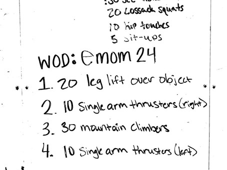 CFL Home WOD: Day 40