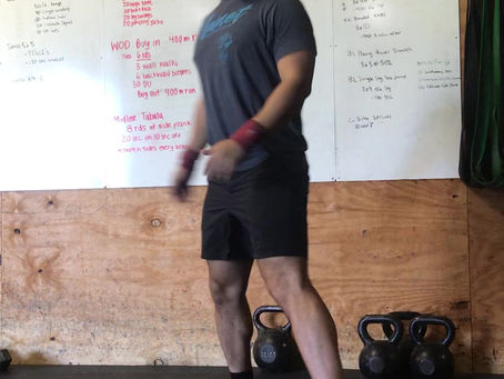 CFL Home WOD: Day 43