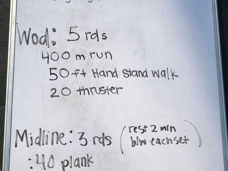 CFL HOME WOD DAY 29: 4/14