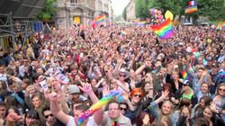Dj Dake à la Gay Pride