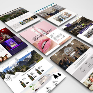 Website Layout & Design