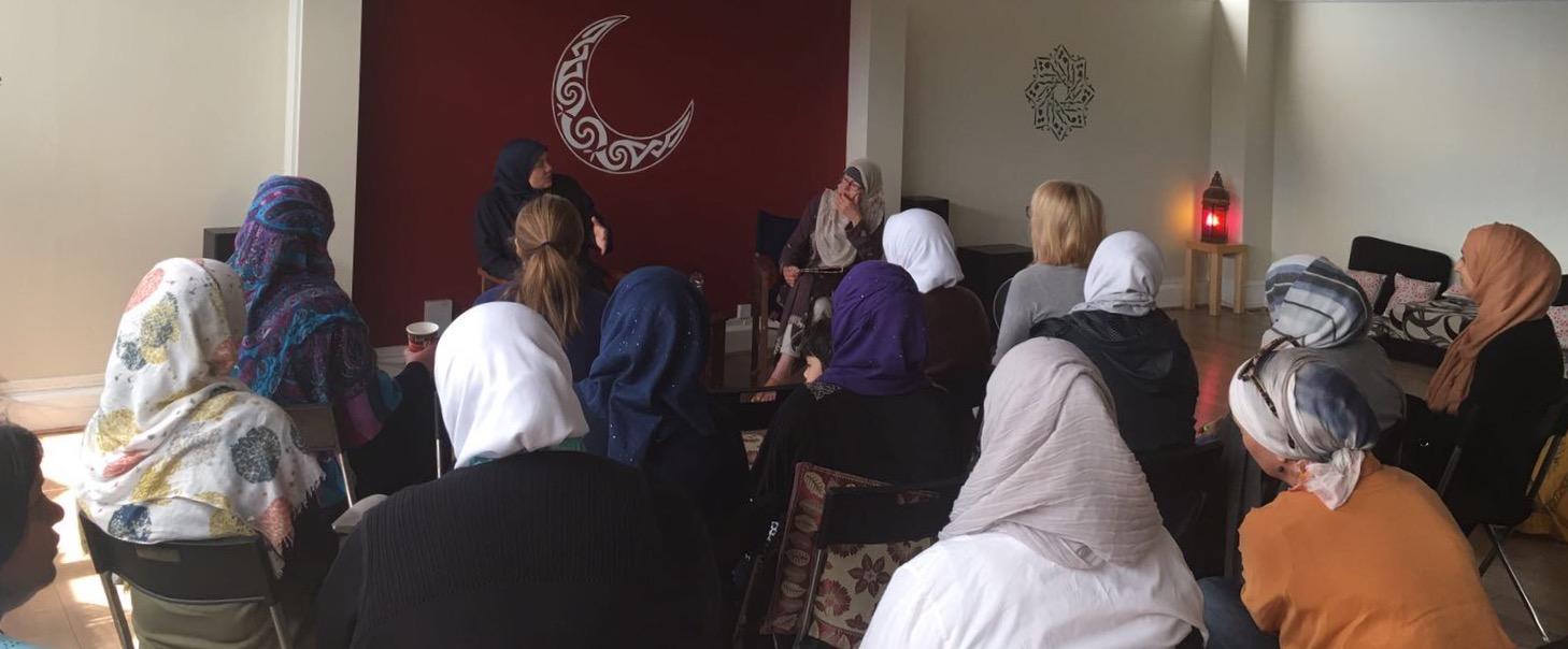 Shaykha Anse Tamara Gray visits
