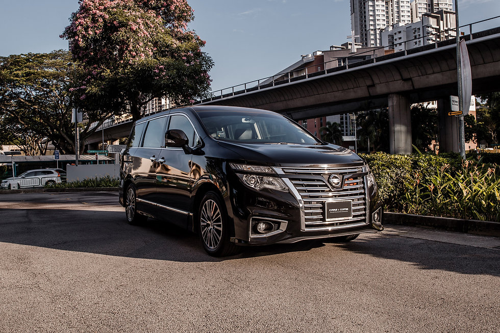 Certified Pre Owned Nissan Elgrand Cars And Coffee Singapore