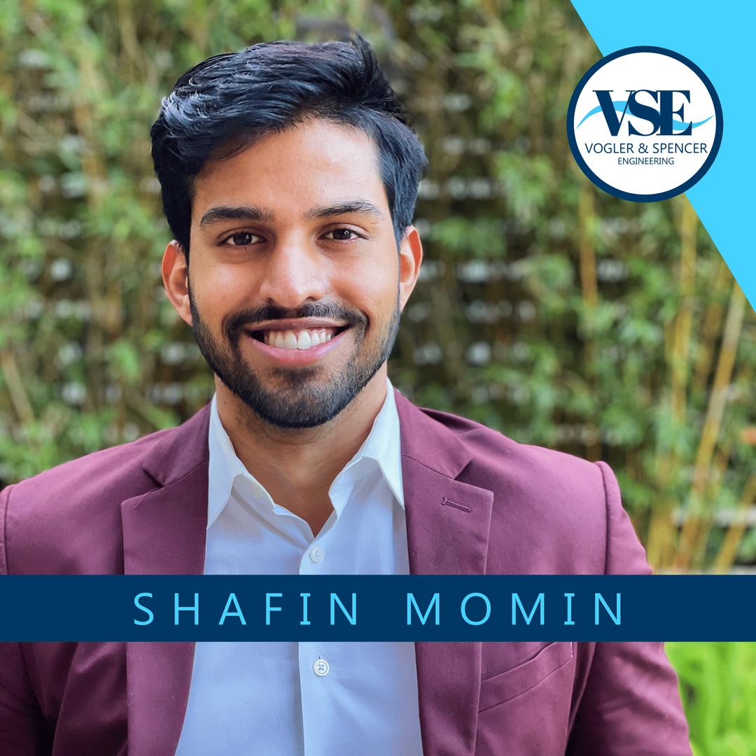 2021 VSE Intern, Shafin Momin