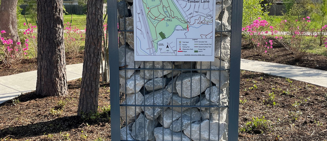 Timber Lane Map Closeup