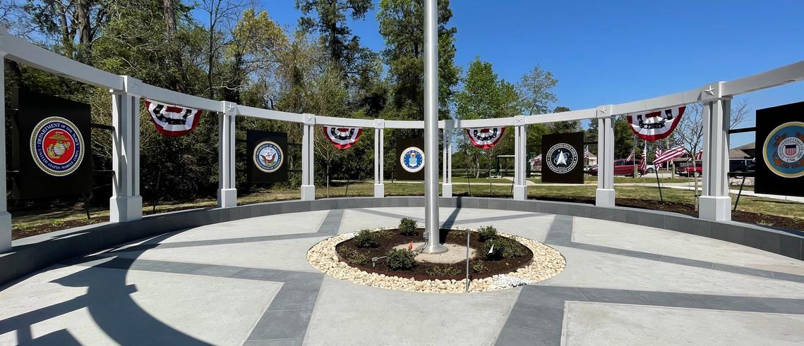 Memorial at Community Center