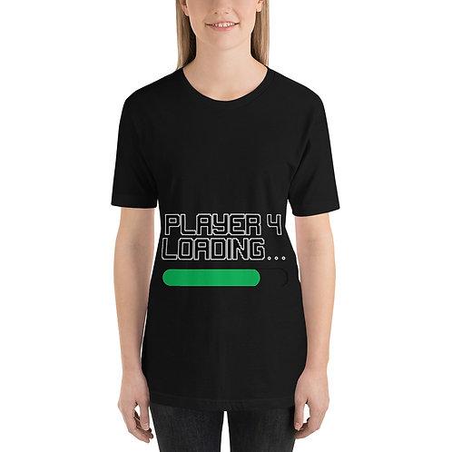 Player 4 Loading Short-Sleeve Unisex T-Shirt