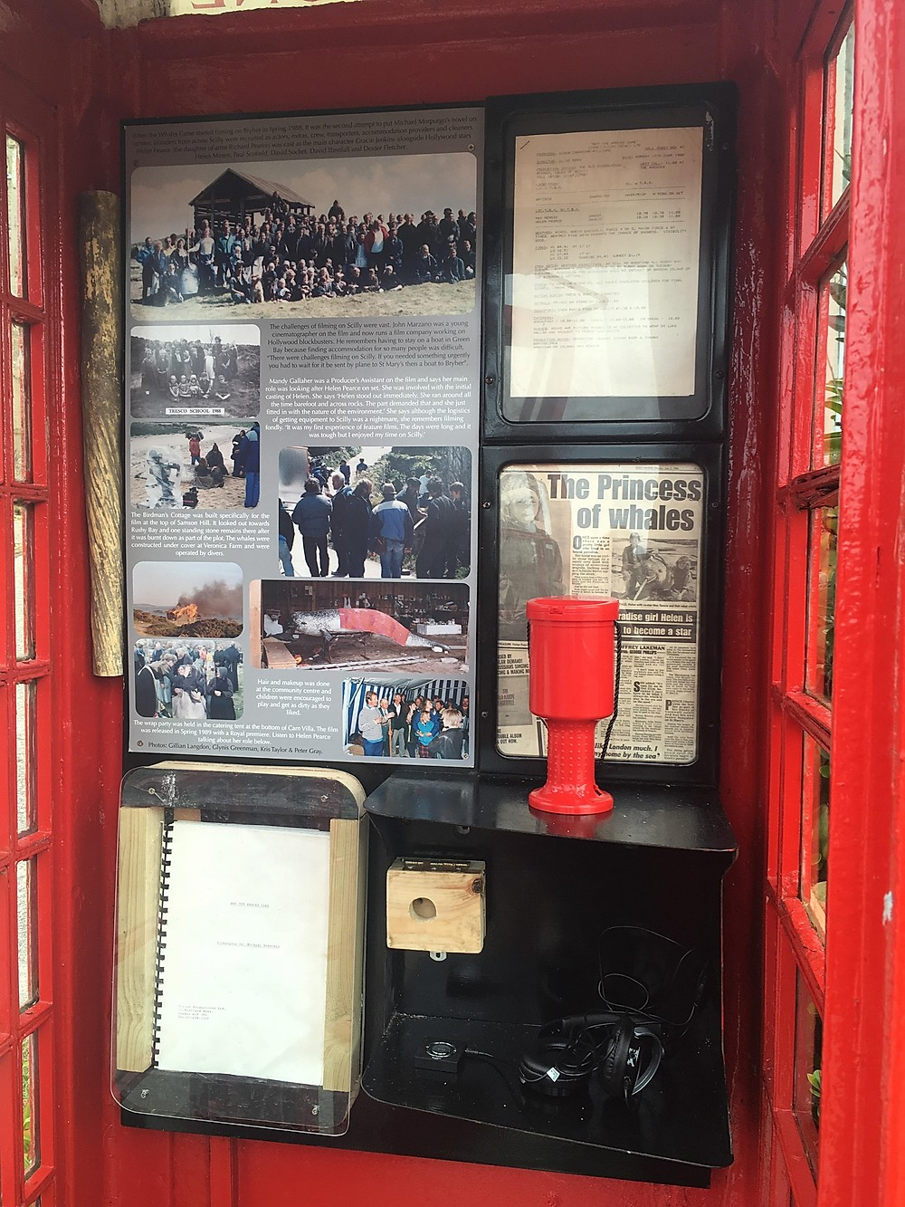 Community Centre/Phone Box Museum