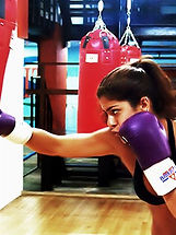 Kickboxing trims the pounds off, burns calories, and heightens confidence.
