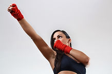 Fitness kickboxing humbles the mind and tones the body.