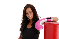 Fitness kickboxing builds muscle, tones body, and reduces levels of stress.