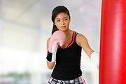 The best way to lose weight and gain muscle is group fitness kickboxing.