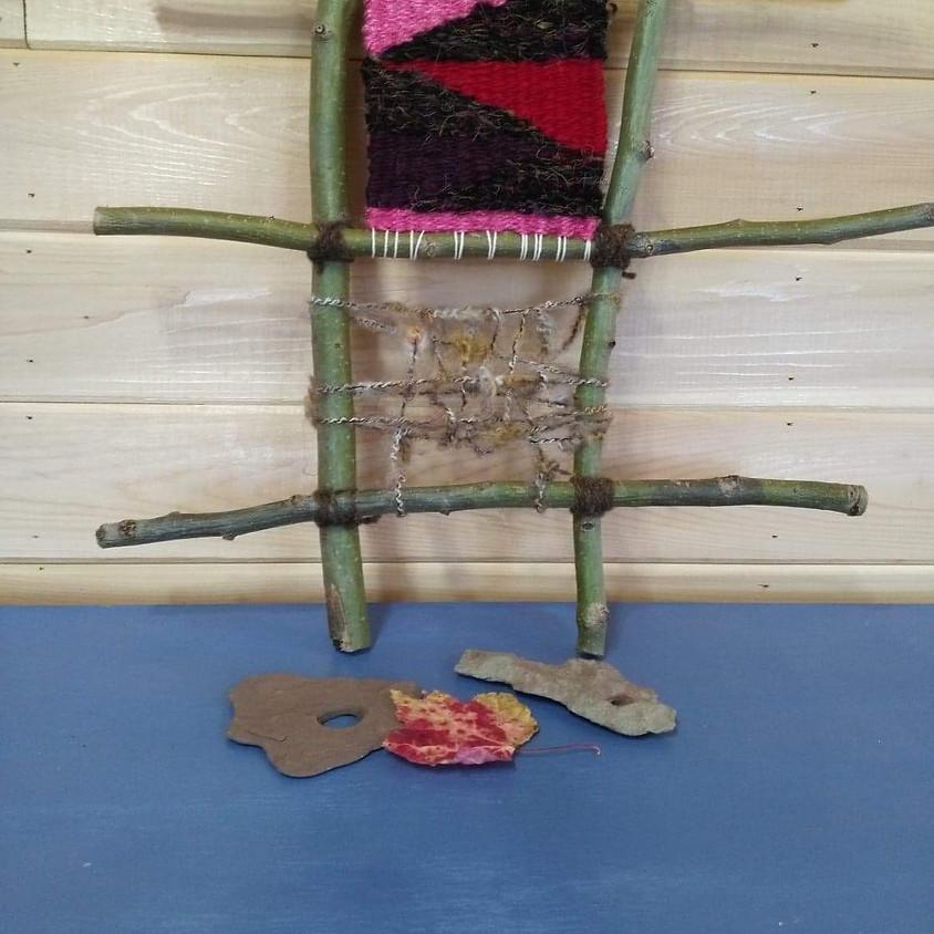 Branch Ladder Weaving - Friday, October 25