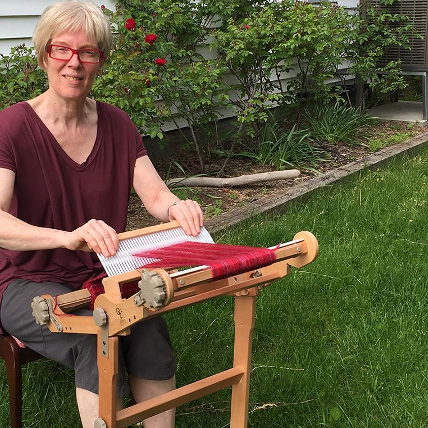 Beginner II Weaving on a Rigid Heddle Loom - Wednesday, October 23