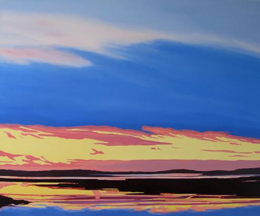 Sunrise, Clam Harbour, Winter #1