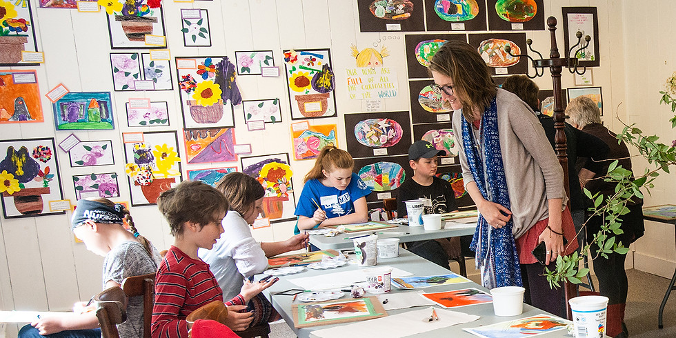 Printmaking Fun for under 12 year olds  Saturday May 25