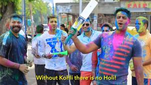 NO HOLI WITHOUT KOHLI
