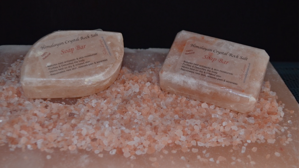 Rock Salt Soap Bar / Scrub Bar
