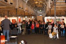 Åbning af Kunst for alle med tale af Tom Jørgensen