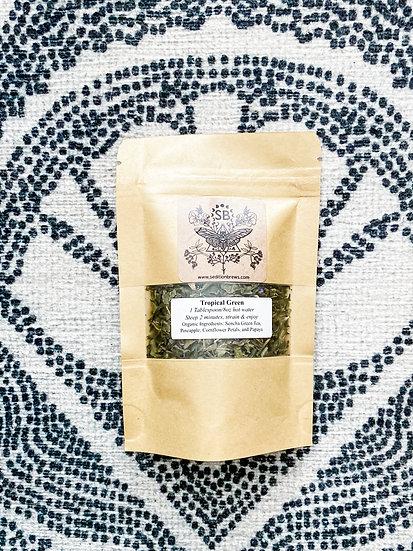 Tropical Green Tea (small: 5-7 servings)
