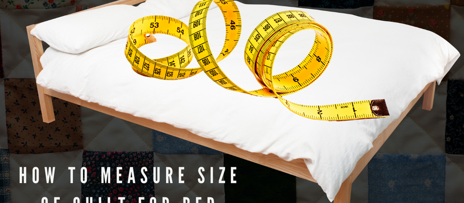 Quilt Sizes: How to Measure Your Bed for a Quilt