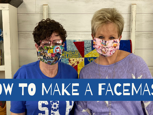 Face Mask Tutorial + Join our Mission to Stop the Spread