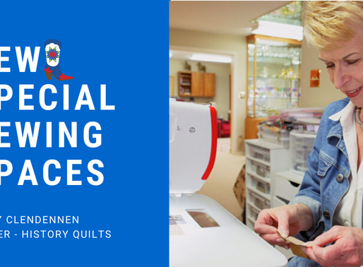 Sew Special Sewing Space: Mary Clendennen