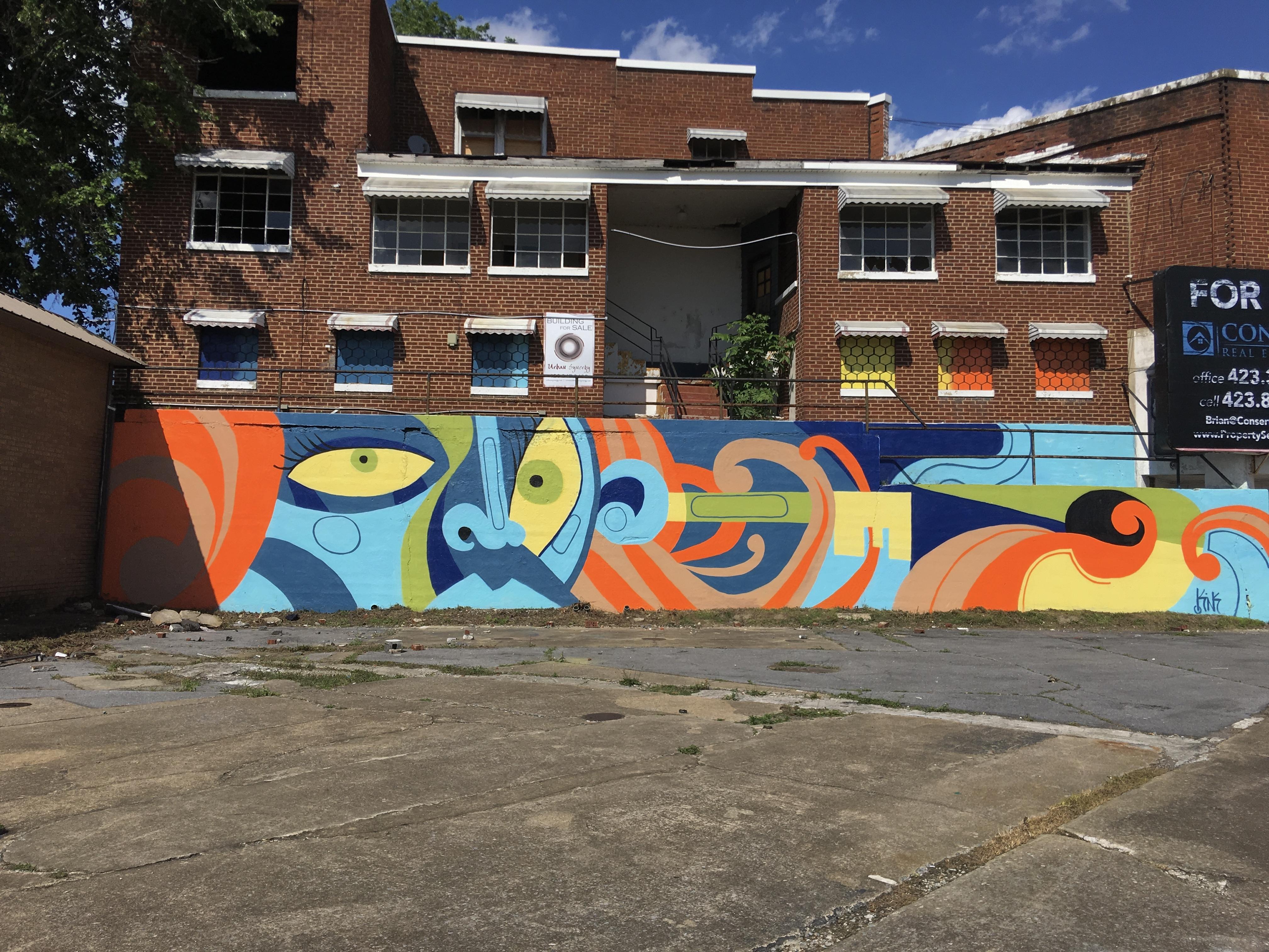 GateKEYper mural Kingsport TN
