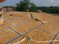 Plywood Seams Taped