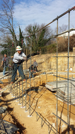 Foundation Wall Prep