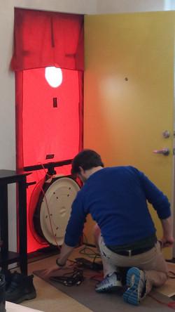 Blower Door Testing