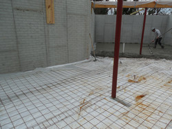 "Slab Prep with 2"" Insulation"
