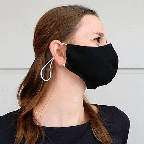 Weisse und Schwarze Gesichtsmasken für Kinder