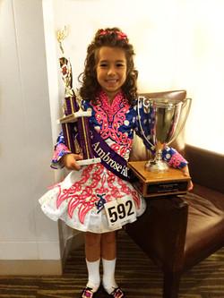 Jessie Armstrong - Open U9 Champion