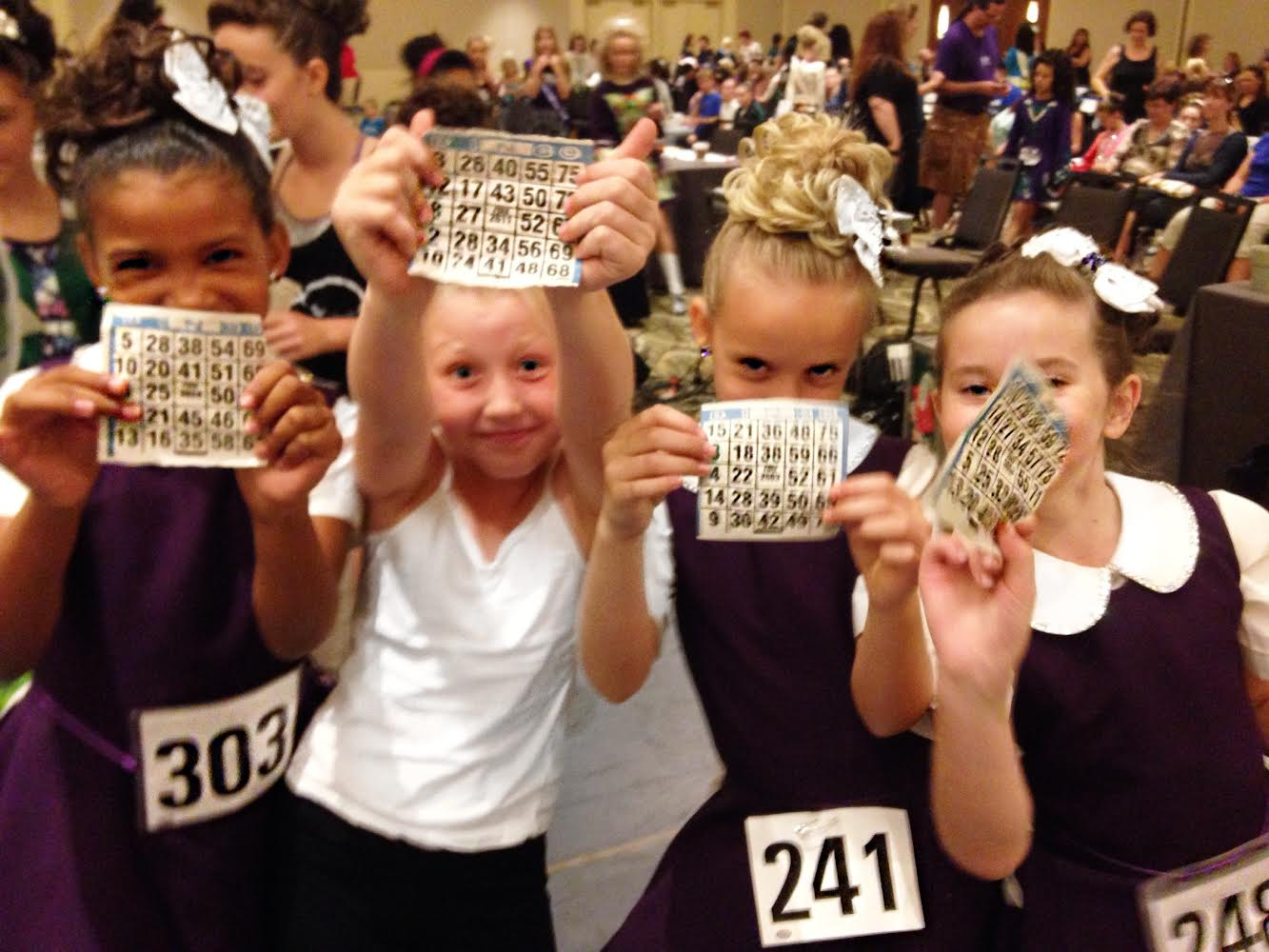 Bingo winners!