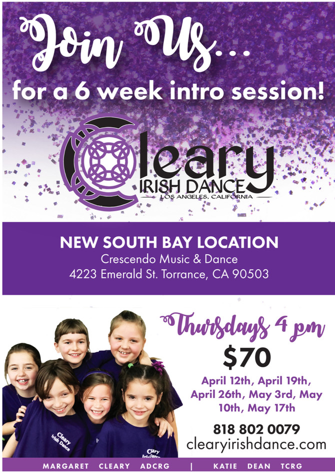 6-week Intro Session in SOUTH BAY
