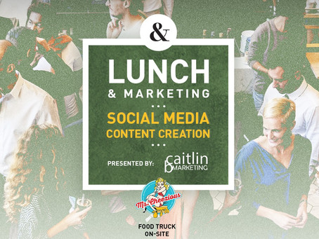 Lunch & Marketing May 2nd, 2019