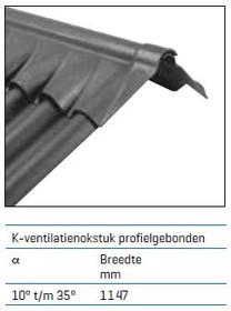 K-ventilatienokstuk