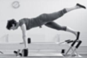 Pilates Reformer, Janine Rensch