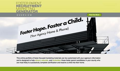 Foster Recruitment Marketing Generator o